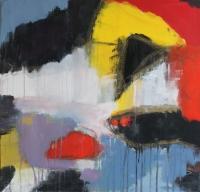 Abstrakt maleri kunst af Charlotte Tønder - Sea Tank