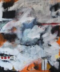 Abstrakt maleri kunst af Charlotte Tønder - IcyShape