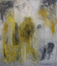 Abstrakt maleri kunst af Charlotte Tønder - Happy Buster