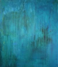 Abstrakt maleri kunst af Charlotte Tønder - Elephant off Track