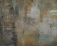 Abstrakt maleri kunst af Charlotte Tønder - Zen