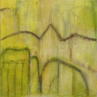 Abstrakt maleri kunst af Charlotte Tønder - birds_on_the_loose