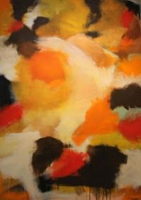 Abstrakt maleri kunst af Charlotte Tønder - Daor