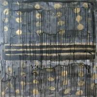Abstrakt maleri kunst af Charlotte Tønder - Dark Piano