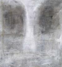Abstrakt maleri kunst af Charlotte Tønder - Grey Dream