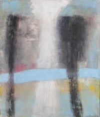 Abstrakt maleri kunst af Charlotte Tønder - Hope