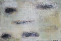 Abstrakt maleri kunst af Charlotte Tønder - Eyes