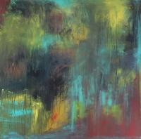 Abstrakt maleri kunst af Charlotte Tønder - Wild Forrest