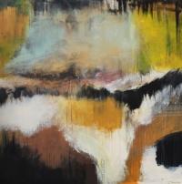 Abstrakt maleri kunst af Charlotte Tønder - Depth