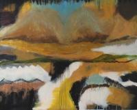 Abstrakt maleri kunst af Charlotte Tønder - Country Harmony
