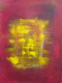 Abstrakt maleri kunst af Charlotte Tønder -  Japan Pleasure