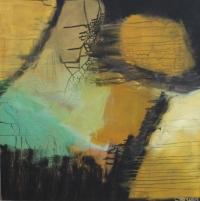 Abstrakt maleri kunst af Charlotte Tønder - Kaos