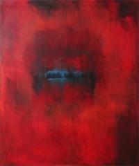 Abstrakt maleri kunst af Charlotte Tønder -  Crack