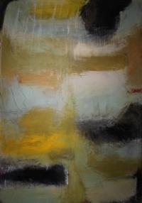 Abstrakt maleri kunst af Charlotte Tønder - Hamony