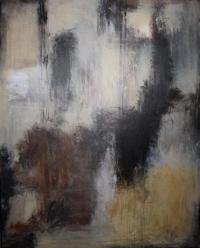 Abstrakt maleri kunst af Charlotte Tønder - Dark Dream