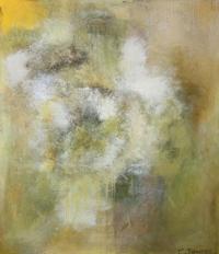 Abstrakt maleri kunst af Charlotte Tønder - May Painting