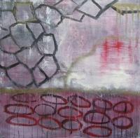 Abstrakt maleri kunst af Charlotte Tønder - Mystery Carride