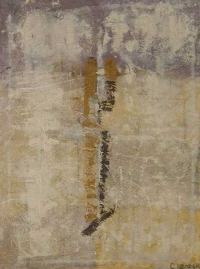 Abstrakt maleri kunst af Charlotte Tønder - New England Fall