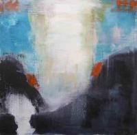 Abstrakt maleri kunst af Charlotte Tønder - No title