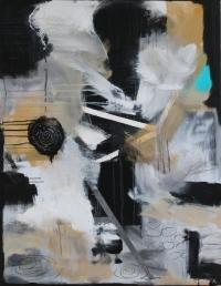 Abstrakt maleri kunst af Charlotte Tønder - Still