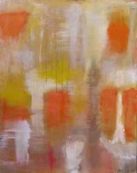 Abstrakt maleri kunst af Charlotte Tønder - Provence