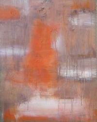 Abstrakt maleri kunst af Charlotte Tønder - Teddy