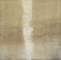 Abstrakt maleri kunst af Charlotte Tønder - Twister