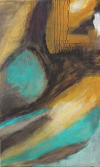 Abstrakt maleri kunst af Charlotte Tønder - Youtube