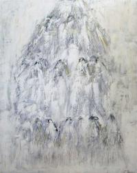 Figurativt maleri kunst af Charlotte Tønder - Avalanche
