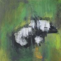 Figurativt maleri kunst af Charlotte Tønder - Cub
