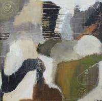 Figurativt maleri kunst af Charlotte Tønder - Kaos