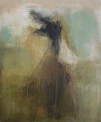Figurativt maleri kunst af Charlotte Tønder - Dancing with self