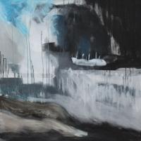 Figurativt maleri kunst af Charlotte Tønder - Open Sea