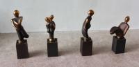 Bronze vinpropper- priser mellem - 750 - 995 DKK -